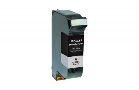 ecoPost Remanufactured Postage Meter Black Ink Cartridge for Digital Design Inc. 4500BK