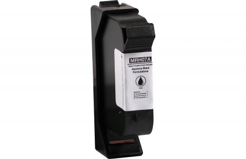 Specialty Ink Remanufactured Postage Meter Aqueous Black Ink Cartridge for HP C9007A