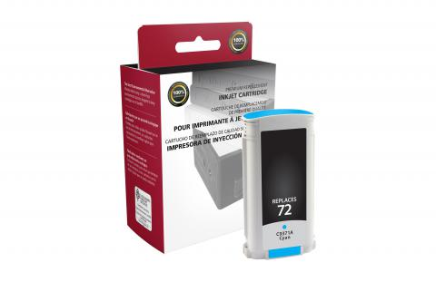 CIG Cyan Ink Cartridge for HP C9371A (HP 72)