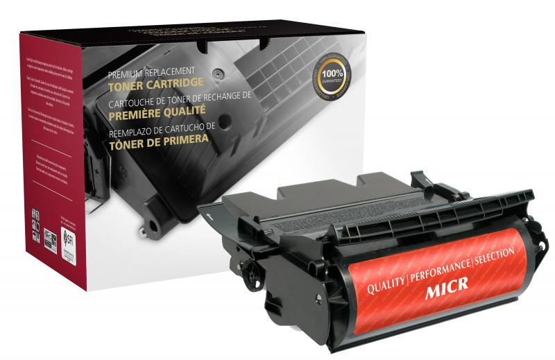 Clover Remanufactured High Yield MICR Toner Cartridge for Dell M5200/W5300