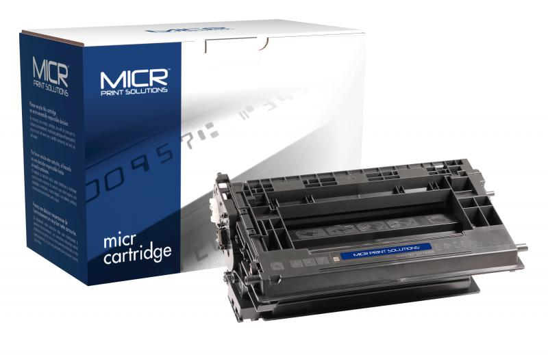 MICR Print Solutions Genuine-New MICR Toner Cartridge for HP CF237A (HP 37A)