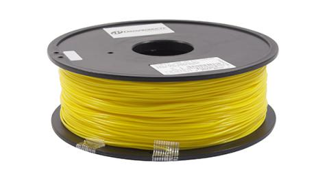 3D Filaments Non-OEM New ABS Filament Yellow - 1kg/roll