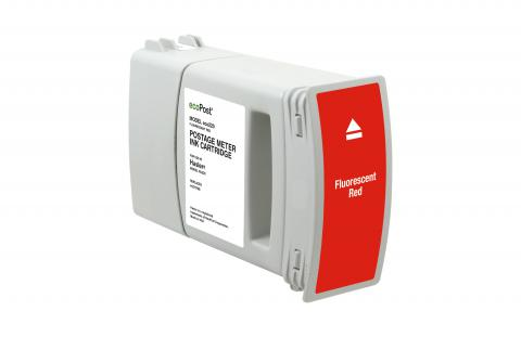 Specialty Ink Remanufactured Hasler 4127978B Postage Meter Red Ink Cartridge