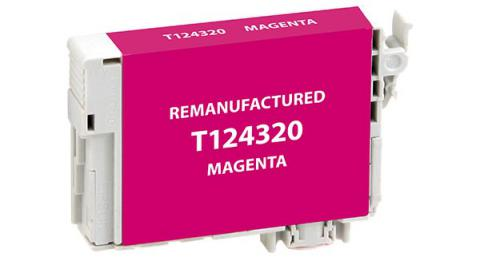 Epson Remanufactured Magenta Ink Cartridge for Epson T124320