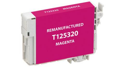 Epson Remanufactured Magenta Ink Cartridge for Epson T125320