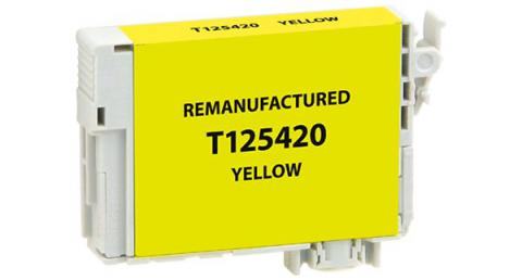 Epson Remanufactured Yellow Ink Cartridge for Epson T125420