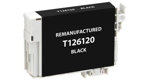 EPC Remanufactured Black Ink Cartridge for Epson T126120