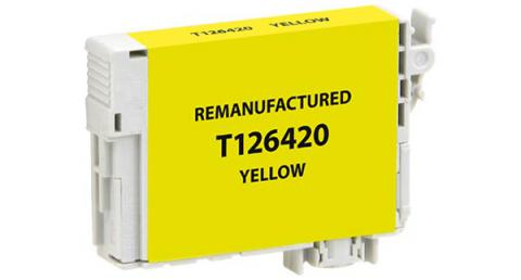 Epson Remanufactured Yellow Ink Cartridge for Epson T126420