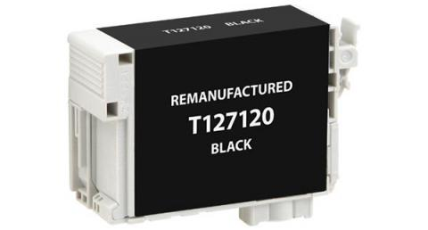 EPC Remanufactured Black Ink Cartridge for Epson T127120