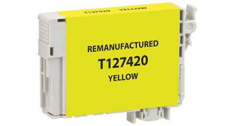 Epson Remanufactured Yellow Ink Cartridge for Epson T127420