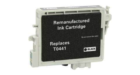 Epson Remanufactured Black Ink Cartridge for Epson T044120