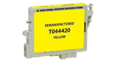 Epson Remanufactured Yellow Ink Cartridge for Epson T044420