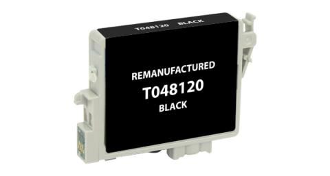 Epson Remanufactured Black Ink Cartridge for Epson T048120