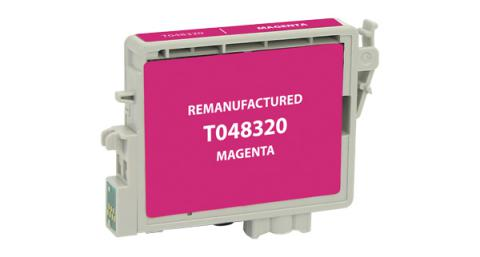Epson Remanufactured Magenta Ink Cartridge for Epson T048320