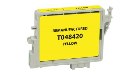 Epson Remanufactured Yellow Ink Cartridge for Epson T048420