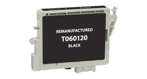 EPC Remanufactured Black Ink Cartridge for Epson T060120