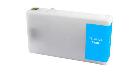 Epson Remanufactured Cyan Ink Cartridge for Epson T676XL220