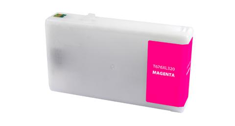 Epson Remanufactured Magenta Ink Cartridge for Epson T676XL320