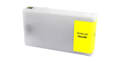Epson Remanufactured Yellow Ink Cartridge for Epson T676XL420