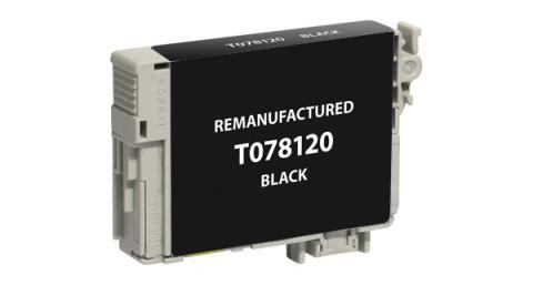 Epson Remanufactured Black Ink Cartridge for Epson T078120
