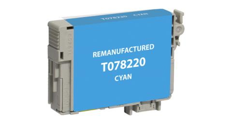 EPC Remanufactured Cyan Ink Cartridge for Epson T078220
