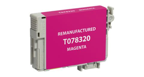 Epson Remanufactured Magenta Ink Cartridge for Epson T078320