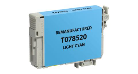 EPC Remanufactured Light Cyan Ink Cartridge for Epson T078520