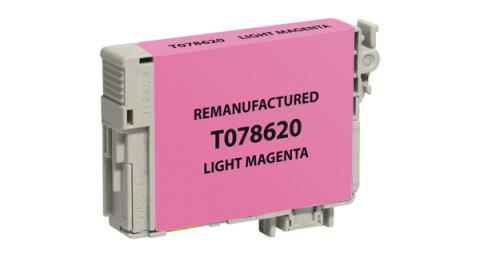 Epson Remanufactured Light Magenta Ink Cartridge for Epson T078620