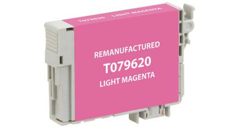 EPC Remanufactured High Yield Light Magenta Ink Cartridge for Epson T079620