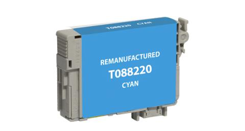 Epson Remanufactured Cyan Ink Cartridge for Epson T088220