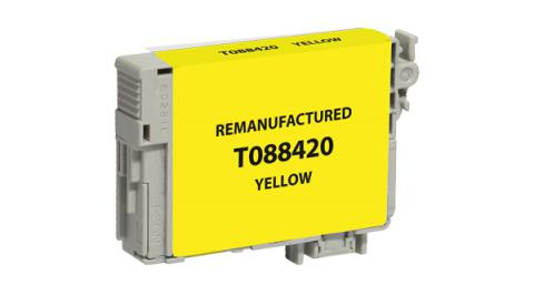 Epson Remanufactured Yellow Ink Cartridge for Epson T088420