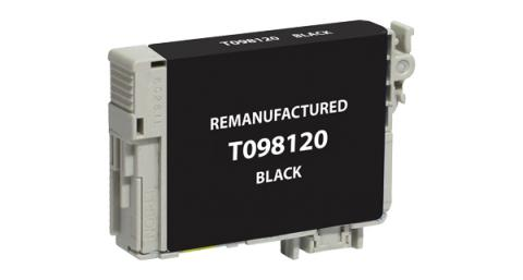 Epson Remanufactured Black Ink Cartridge for Epson T098120