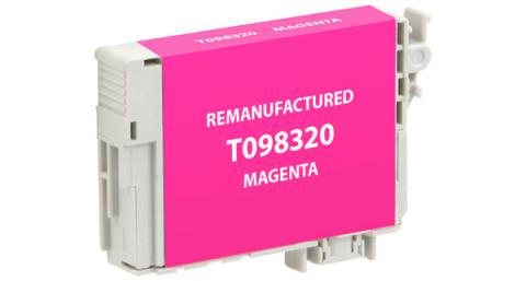 Epson Remanufactured Magenta Ink Cartridge for Epson T098320
