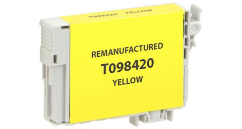 Epson Remanufactured Yellow Ink Cartridge for Epson T098420
