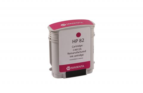 XPT Remanufactured High Yield Magenta Wide Format Ink Cartridge for HP C4912A (HP 82)