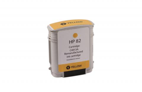 XPT Remanufactured High Yield Yellow Wide Format Ink Cartridge for HP C4913A (HP 82)