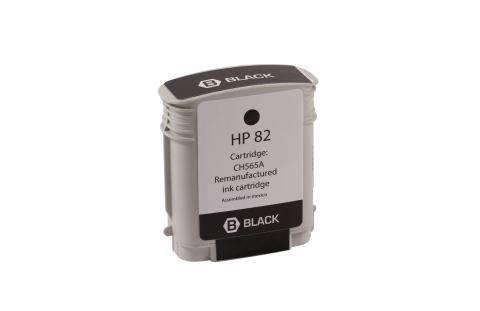 XPT Remanufactured High Yield Black Wide Format Ink Cartridge for HP CH565A (HP 82)