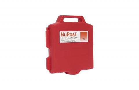 NuPost Non-OEM New Red Postage Meter Ink Cartridge for Pitney Bowes 765-0
