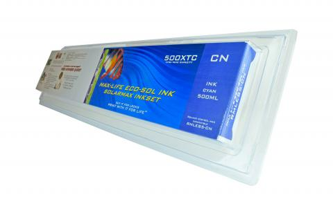 LC Non-OEM New Cyan Wide Format Inkjet Cartridge for Roland ES5