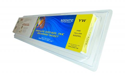 LC Non-OEM New Yellow Wide Format Inkjet Cartridge for Roland ES5