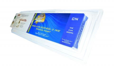 LC Non-OEM New Cyan Wide Format Inkjet Cartridge for Roland MAX 25