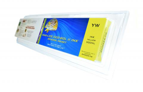 LC Non-OEM New Yellow Wide Format Inkjet Cartridge for Roland MAX 25