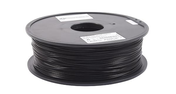 3D Filaments Non-OEM New PLA Filament, Black - 1kg/roll