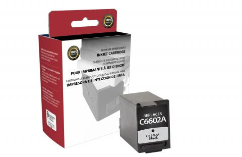 Clover Imaging Remanufactured Black Ink Cartridge for HP C6602A