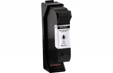 Specialty Ink Remanufactured Postage Meter Very Dark Black Ink Cartridge for Collins WLK 660068