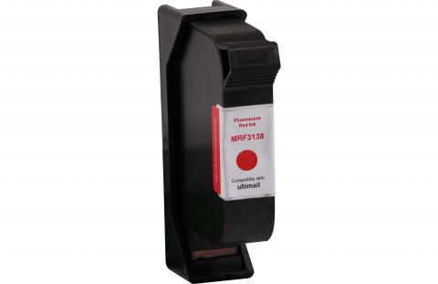 Specialty Ink Remanufactured Postage Meter Fluorescent Red 2 Pack Ink Cartridge for FP Mailing Solutions 198 580033313800