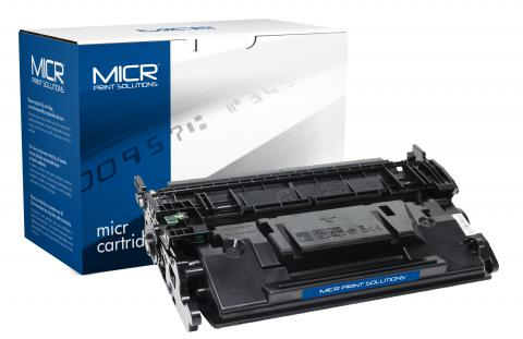 MICR Print Solutions Genuine-New MICR Toner Cartridge for HP CF287A (HP 87A)