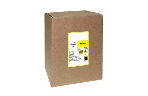 WF Non-OEM New Yellow Wide Format Ink Bottle for HP HP FB250/FB251 (CH218A)
