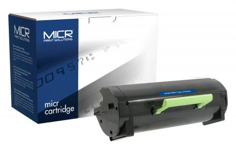 MICR Print Solutions New Replacement MICR Ultra High Yield Toner Cartridge for Lexmark MS510