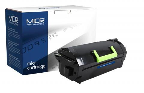 MICR Print Solutions Genuine-New MICR Extra High Yield Toner Cartridge for Lexmark MS811